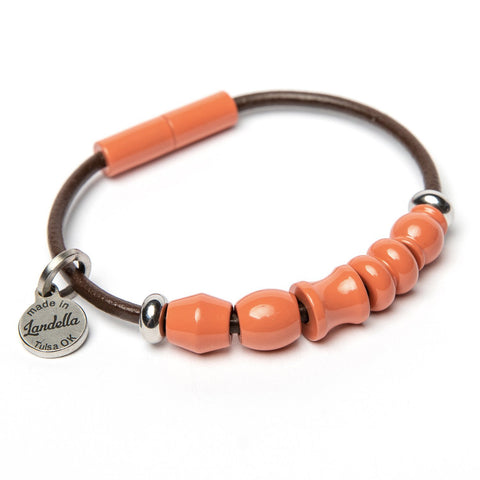 5 Bead Leather Bracelet Fundraiser