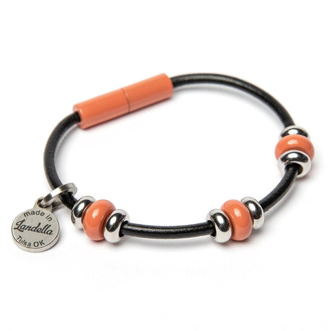 3 Bead Leather Bracelet Fundraiser