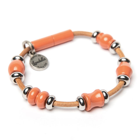 Deluxe 5 Bead Leather Bracelet Fundraiser