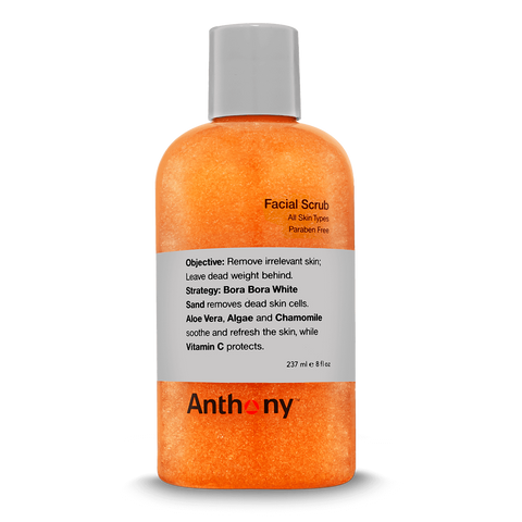 Facial Scrub-Face Scrub-Anthony-available at Landella Skincare of Downtown Tulsa
