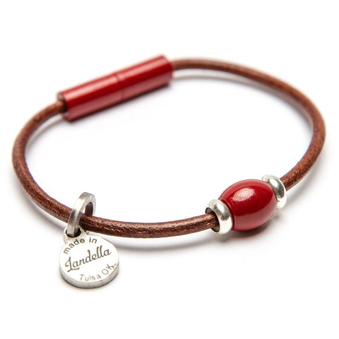 Copy of Single Bead Leather Bracelet Fundraiser