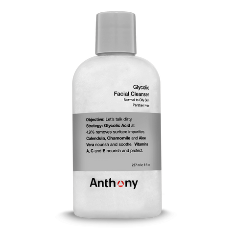 Glycolic Facial Cleanser-Face Cleanser-Anthony-available at Landella Skincare of Downtown Tulsa