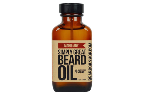 Simply Great Beard Oil | Mahogany | 3 oz.