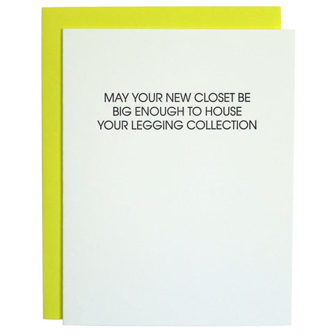 YOUR LEGGING COLLECTION GREETING CARD