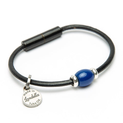 Single Bead Leather Bracelet Fundraiser