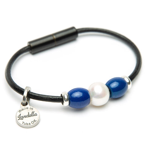 Pearl Trio Leather Bracelet Fundraiser
