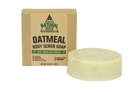 Oatmeal Body Scrub Soap Bar