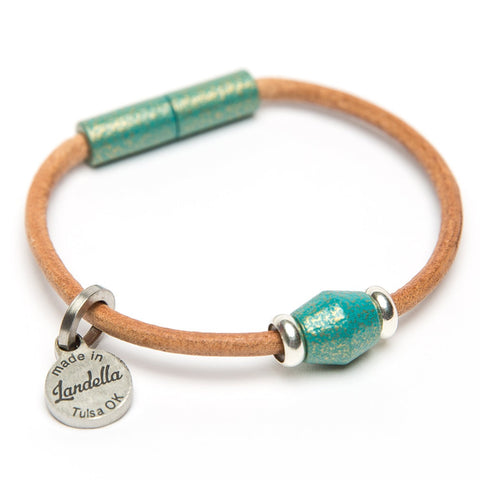 Leather Single Bead Bracelet | Last Chance Sale