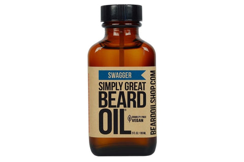 Simply Great Beard Oil | Swagger | 3 oz.-Beard Oil-Sam's Natural-available at Landella Skincare of Downtown Tulsa
