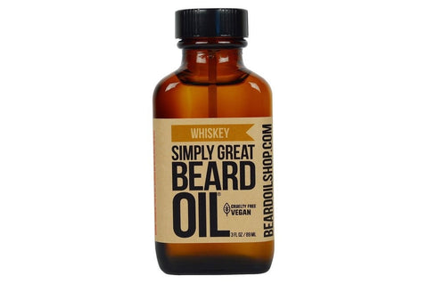 Simply Great Beard Oil | Whiskey | 3 oz.-Beard Oil-Sam's Natural-available at Landella Skincare of Downtown Tulsa