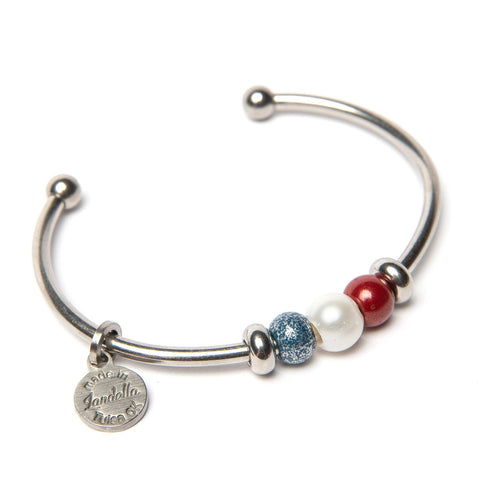 Old Glory Pearl Trio Cuff