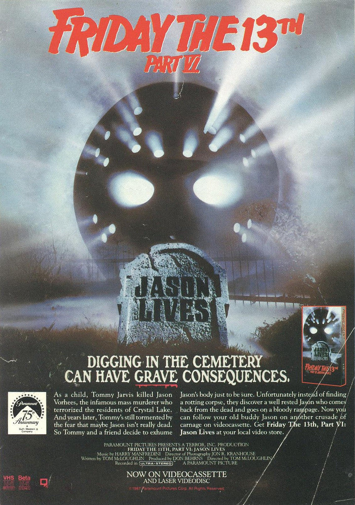 The holidays have come and gone,but LaserDisc time is all year long! PS- JASON'S NOT DEAD!
