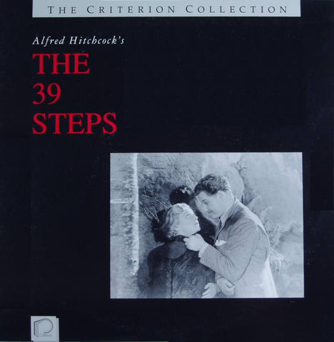 39 Steps (1935) Criterion #3  [CC1103L]