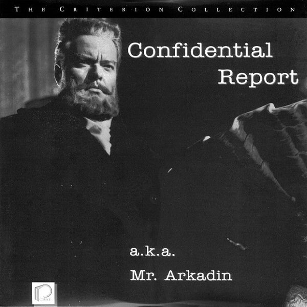 Confidential Report (Mr. Arkadin) Criterion #121 (1955) [CC1277L]