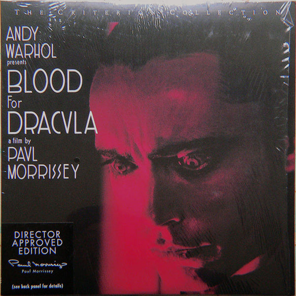Blood for Dracula - Andy Warhol (1974) Criterion #287WS CLV [CC1439L]