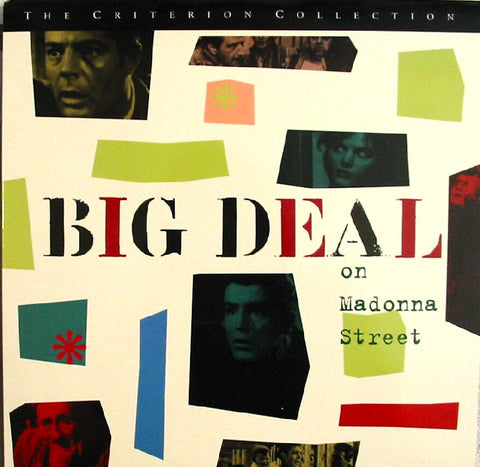 Big Deal on Madonna Street (1960) Criterion #321 WS CLV [CC1473L]