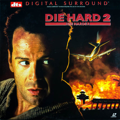 Die Hard 2: Die Harder DTS (1990) [0890684] SEALED