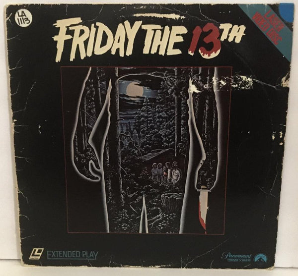 Friday The 13th: Part 1 (1980) CLV [LV 1395]