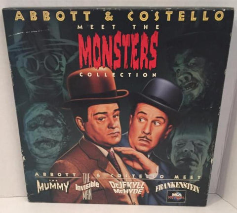 Abbott & Costello Meet The Monsters Collection Box Set