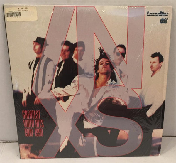INXS: Greatest Video Hits 1980-1990 (1990) Music Videos [PA-91-335] SEALED