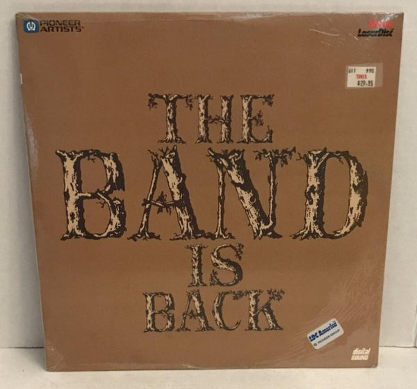Band: The Band is Back (1983) Concert [PA-85-120] SEALED