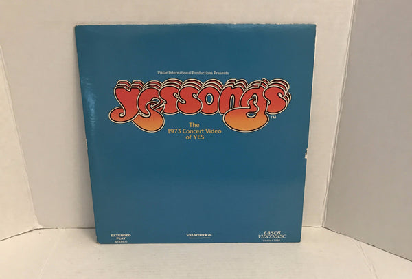 Yes: YesSongs The 1973 Concert Video of YES