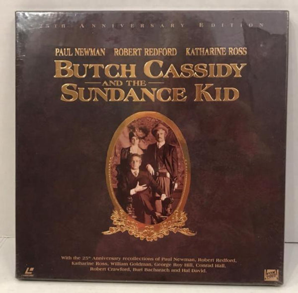 Butch Cassidy and the Sundance Kid: 25th Anniversary (1969) Box Set [8595-85] SEALED