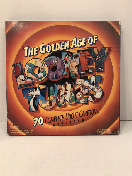 Golden Age Of Looney Tunes Vol 1 (1933-1948) Box Set [ML102400] RECALLED Version