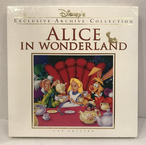 Alice In Wonderland Deluxe CAV Box Set Disney Archive Collection (1951)