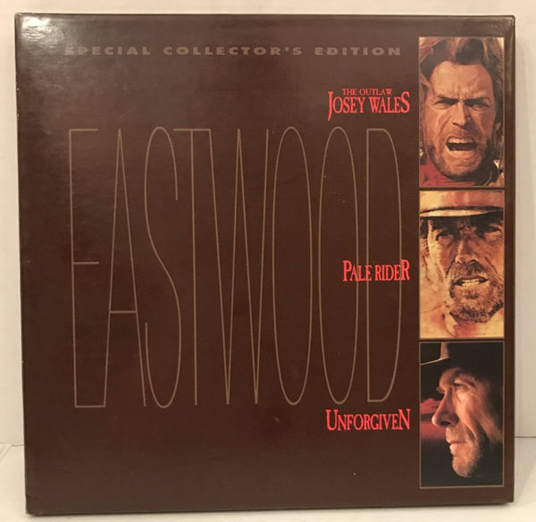 Eastwood Trio Box Set: Unforgiven/Josey Wales/Pale Rider [12904]