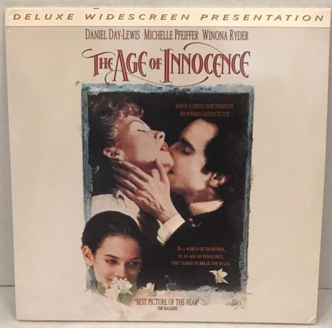 Age of Innocence () Daniel Day-Lewis, Michelle Pfeiffer, Winona Ryder