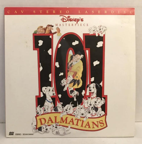 101 Dalmatians (1961) Disney's Animated CAV [15797 CS] SEALED