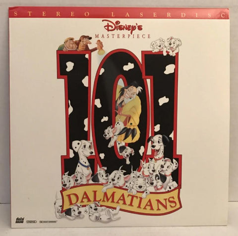 101 Dalmatians (1961) Disney's Animated [15797 AS] SEALED