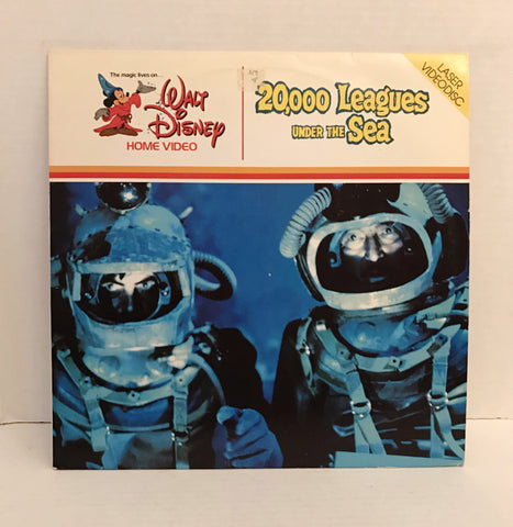 20,000 Leagues Under The Sea - Walt Disney Home Video