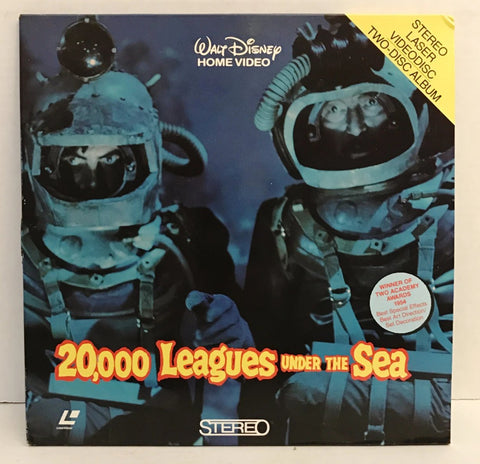 20,000 Leagues Under The Sea - Walt Disney Stereo