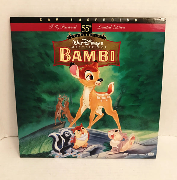 Bambi Disney 55th Anniversary (CAV) THX/ Dolby Surround