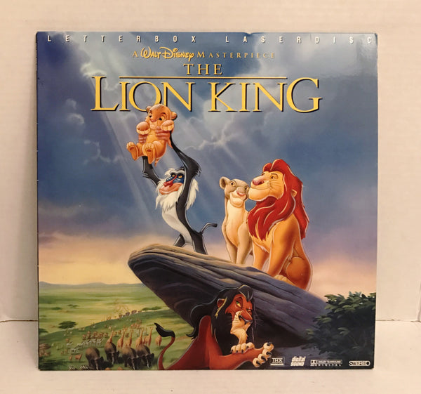 Lion King (1995) Disney Letterbox THX/AC-3 [2977 AS]