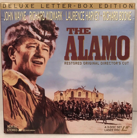 Alamo Director's Cut (1960) LB Box Set [ML102581]