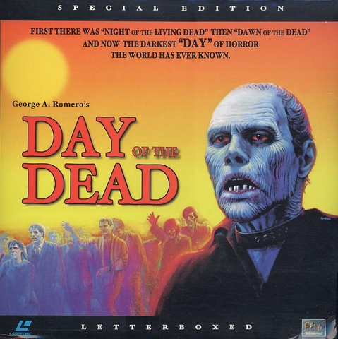 Day of the Dead: Special Edition (1985) LB Uncut ELITE [EE3291]