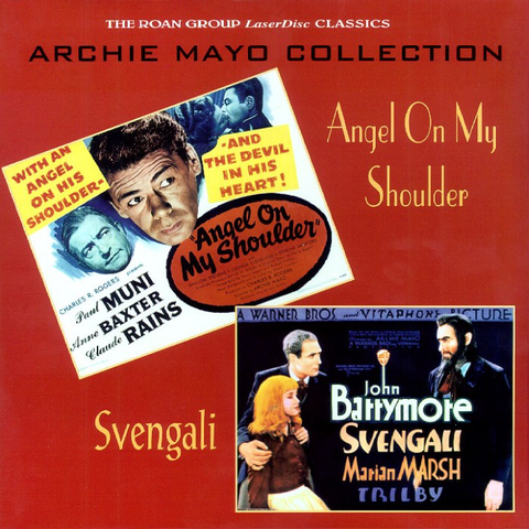 Angel on My Shoulder / Svengali: Archie Mayo Collection (1946) Roan Group [RGL9604] SEALED