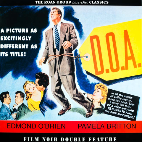 D.O.A. / Quicksand (1950) Roan Group [RGL9637]