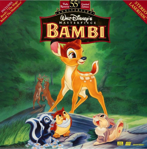 Bambi (1942) Disney 55th Anniversary - CLV THX [9505 AS]