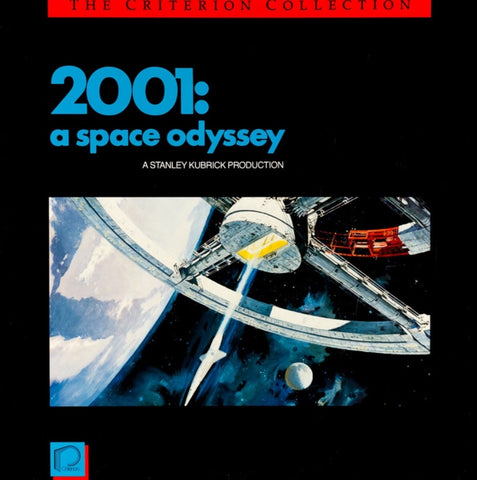 2001: A Space Odyssey (1968) Criterion #60 Box Set CAV [CC1160L]