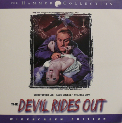 Devil Rides Out: Special Edition (1968) WS Uncut ELITE / HAMMER [EE3384]