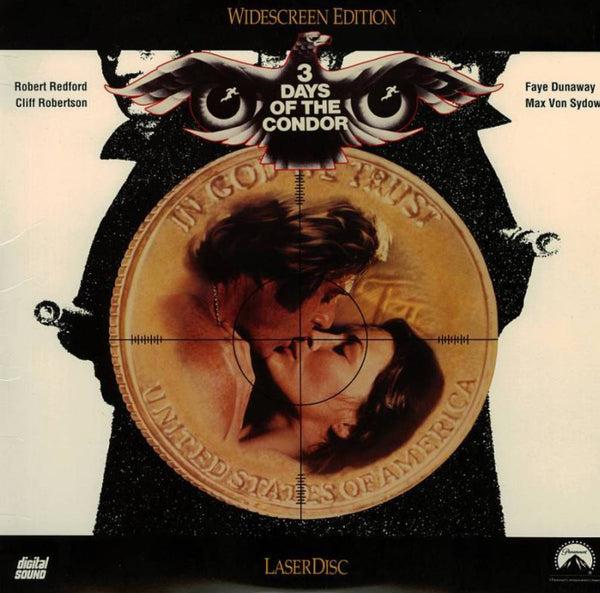 3 Days of The Condor (1975) WS [LV 8803-WS]