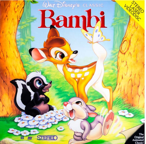 Bambi (1942) CLV Disney [942 AS]