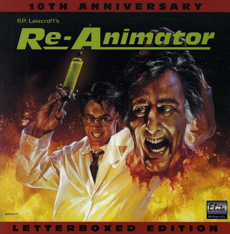 Re-Animator: 10th Anniversary Edition (1985) LB Uncut ELITE [EE4323]
