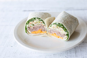 Roast Beef Wrap with Pimento Cheese