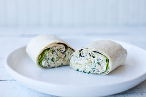 Albacore Tuna Salad Wrap