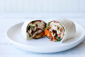 Chicken Banh Mi Wrap